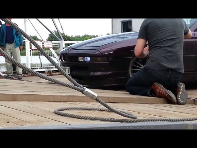 BMW 8erAlpina on Tour and Ferry in Hungary