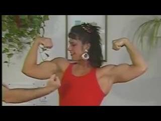mixeds wrestlings| Laura Vukov vs Tom-FBB vs Guy-Female Muscle Show & Mixed Armwrestling