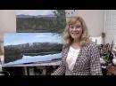 Акрил Подготовка Холста Кисти Краски Acrylic Prepare Canvas Brushes Paints