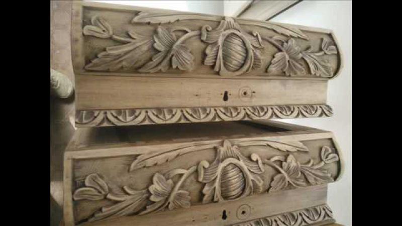 Старый комод пошаговая инструкция Реставрация мебели Покраска мебели