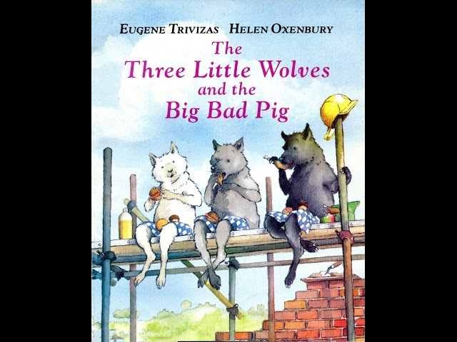 The three little wolves and the big bad pig CC