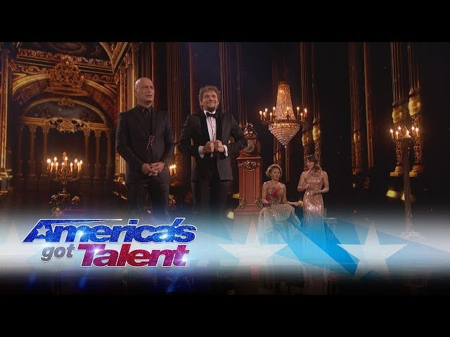 The Clairvoyants Are Back With A Mind-Blowing Performance - Americas Got Talent 2017