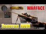 Warface как выбить Золотую AWM и 10 обычных AWM