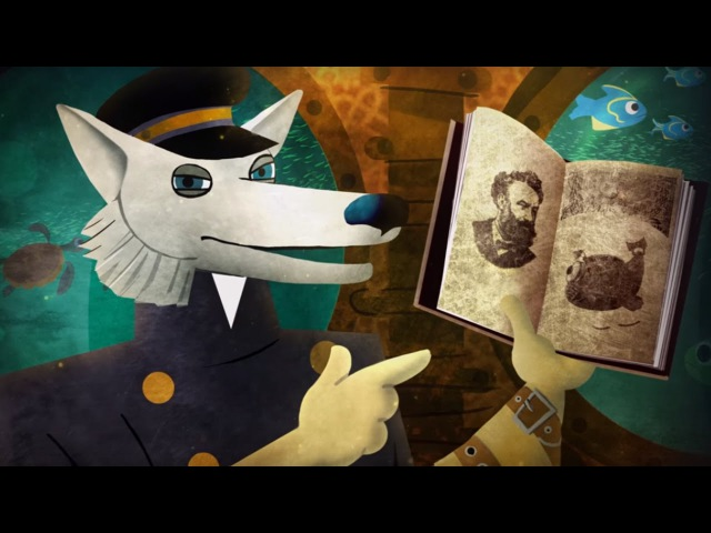 Волшебный фонарь - Таинственный остров - Серия 11 - мультфильм для детей по школьной программе