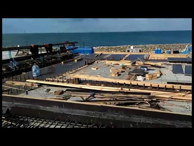 Строительство Керченского моста. Бетонные работы. 12.06.2017г. Опубликовано: 12 июн. 2017 г. youtu.be/E_yoV3UBni4