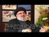 Hezbollah Leader explains why Syria &amp Assad are crucial to Middle East war   English Subs