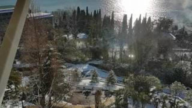 Снег Сочи 29 января 2017 года - как из зимы все равно сделать лето🌴🌞