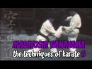 Masatoshi Nakayama. The techiques of karate. Part 5