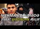 Mehman Hüseynovun polis bölməsində başına açılan oğraşlıq və şərəfsizliklər