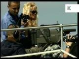 1990s Cannes, Pamela Anderson Barb Wire Press Call, Archive Footage
