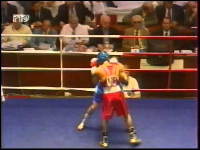 48kg 1/2 Sergey Kazakov (RUS) - Oleg Kiryukhin (UKR) EC 1998