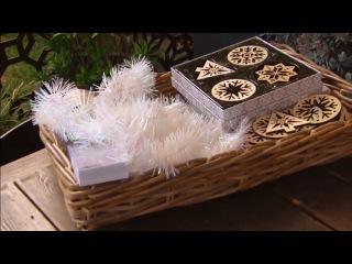 Как создать потрясающий Рождественский венок в скандинавском стиле?