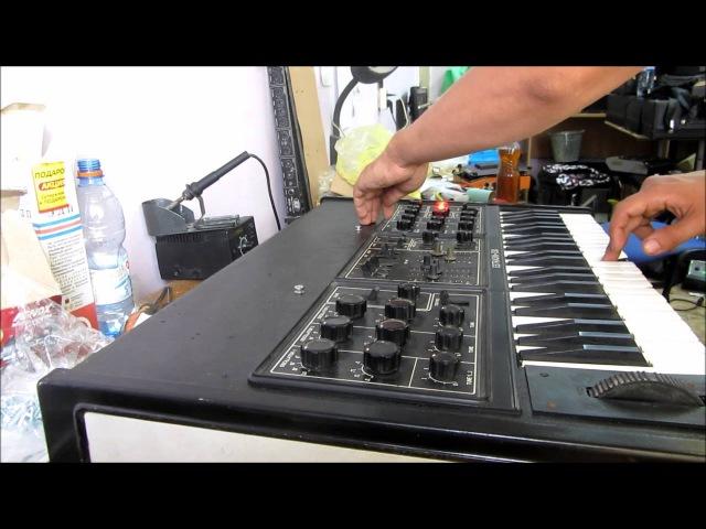 Soviet analog synthesizer Estradin 230 \ Эстрадин 230