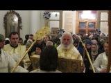 Епископ Адриан - чтение Евангелия на богослужении на праздник Рождества Христова