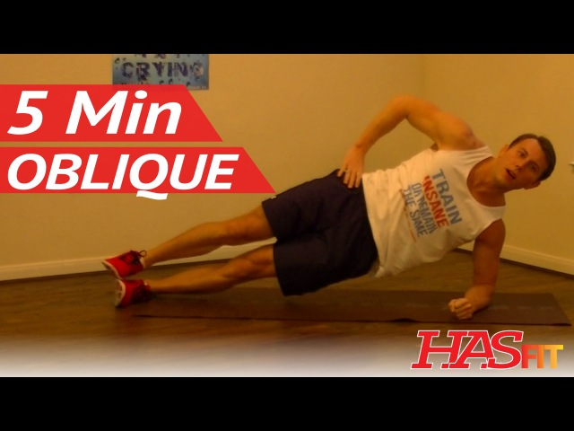 5 минутная тренировка косых мышц живота против валиков 5 Minute Oblique Workout Loose Love Handles Workouts HASfit Love Handles Exercises for Obliques