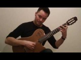 Green and Golden (Ralph Towner) - played by Yegor Dzygun - Godin Multiac