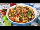 Ensalada de cuscus con espinacas y frutos secos