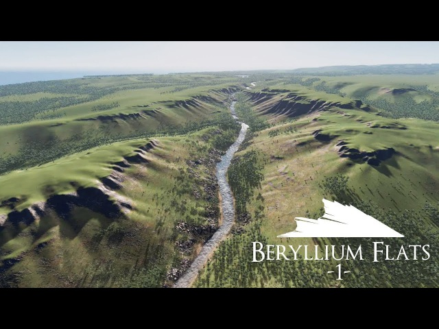 Beryllium Flats - Cities: Skylines Map Speed Build [PART 1]