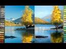 РИСУЕМ красивый пейзаж пастелью