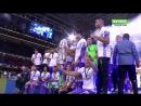Награждение Реала - обладателя Лиги Чемпионов 201617