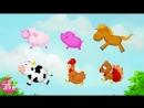 ABCMAGIE Apprendre les animaux de la ferme en français