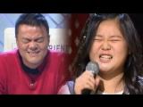 На одном из корейских к-поп шоу талантов, ребенок удивил всех своим голосом с песней