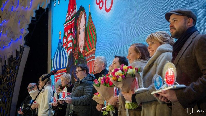 """IV московский фестиваль """"Путешествие в Рождество"""" стал рекордным - Собянин  // mos.ru"""
