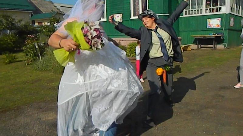 Второй день свадьбы. Молодые.