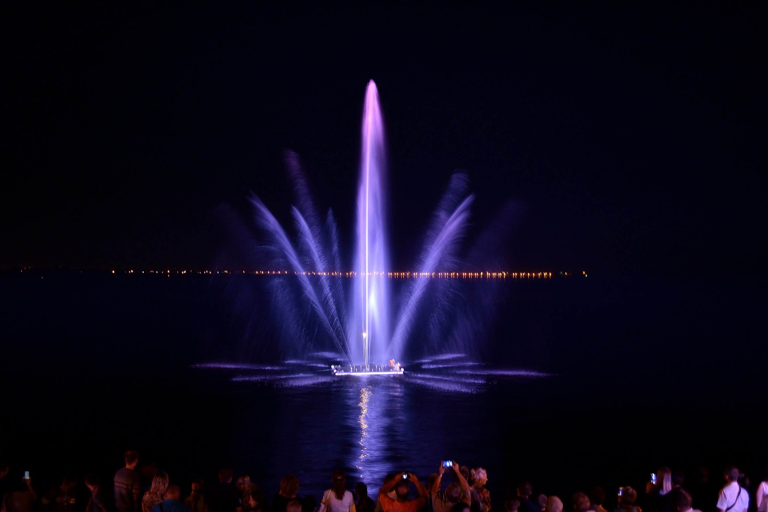 #СердцеВолги или короткий осенний взгляд на новый саратовский фонтан