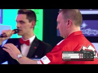 Glen Durrant vs Paul Hogan (BDO World Darts Championship 2017 / Round 2)