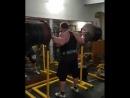 Кшиштоф Радзиковский (Польша), присед в наколенниках - 370 кг, последняя тяжелая тренировка перед АК - 2017 💪💪💪