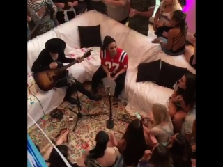 Demi at Kiss 108's Sorry Not Sorry House Party - July 11 #SNSHouseParty