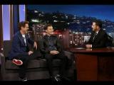 Роберт Дауни-младший и Том Холланд о «Возвращении домой» на шоу Джимми Киммела. Русские субтитры