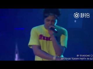 2017.01.08_TeamH Party_part④_《I Feel You》_Jang Keun Suk