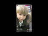 Женя  с Даниэлем в прямом эфире Instagram 17.02.2017