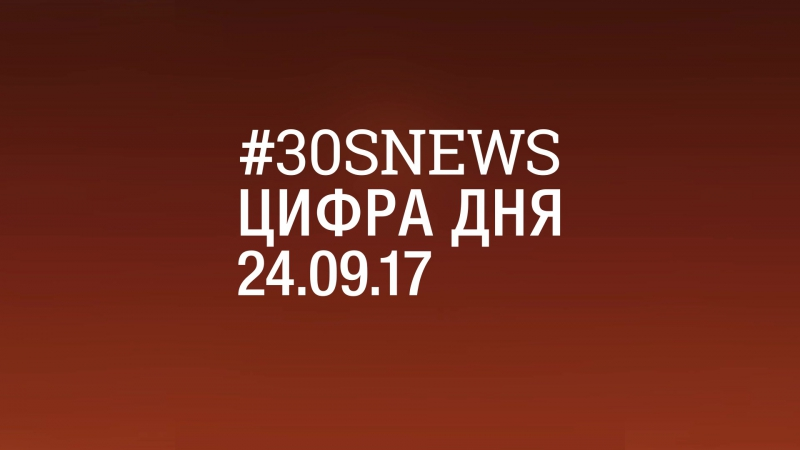24.09 | ЦИФРА ДНЯ: 25000 postnews 30snews цифрадня