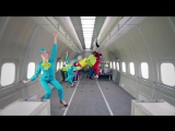 S7 Airlines  OK Go, Upside down  Inside out - #ГравитацияП