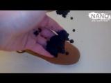 Nano Reflector - замша эффект на лицо