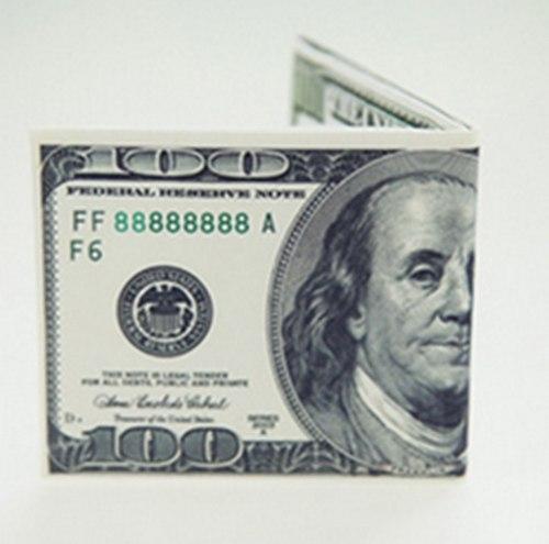 Кошелек в виде доллара