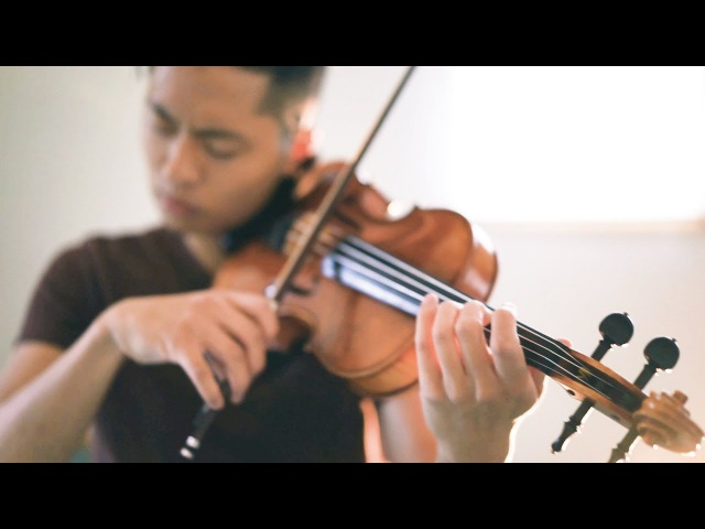 What A Beautiful Name - Hillsong - Violin cover by Daniel Jang
