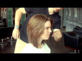 How to Create Short Functional Layers in Mid Length Hair (Inspired by Actress Liv Tyler)