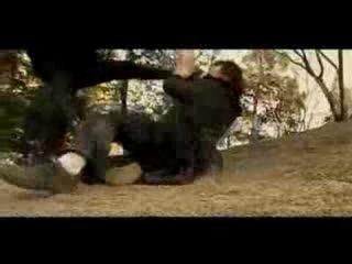 Duel - fighting action scene