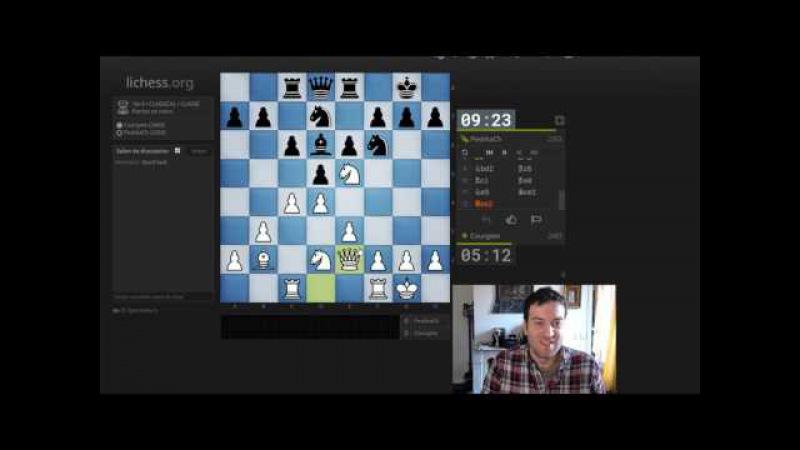 56Blancs 27-03-2017 : Anglaise - 1...c6 anti semi slav avec 4.b3-Fg4 (GM Igor Nataf)
