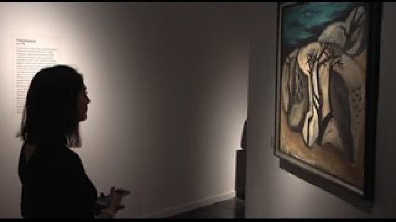 Тамара Синявская в Москве на открытии выставки «Созвездие Абшерона. Азербайджанские художники 1960-1980-х годов».