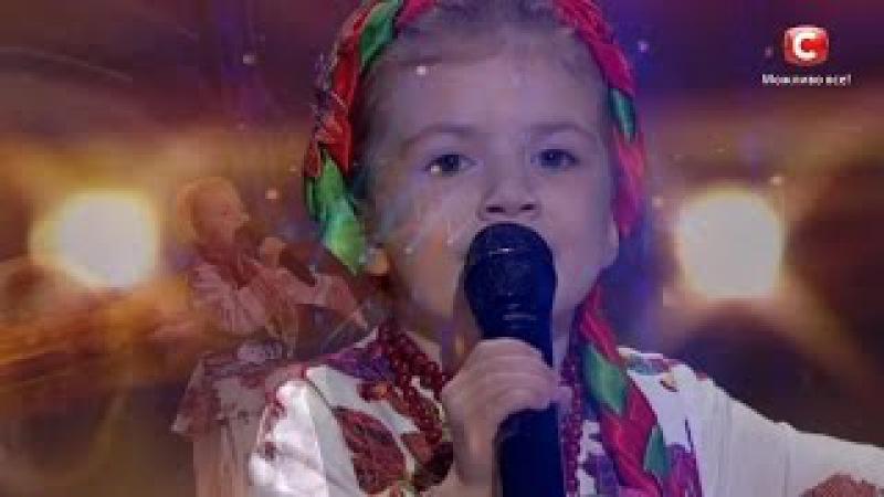 Веронikа Морсьkа - Kвiтkа-Dуша - Неймовірний голос Diвчинkа переспівала Ніну Матвієнkо у 5 роkів на УМТ. Dіти-2