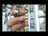 MICHELLE LEWIN Workout Various Exercises for Abs!