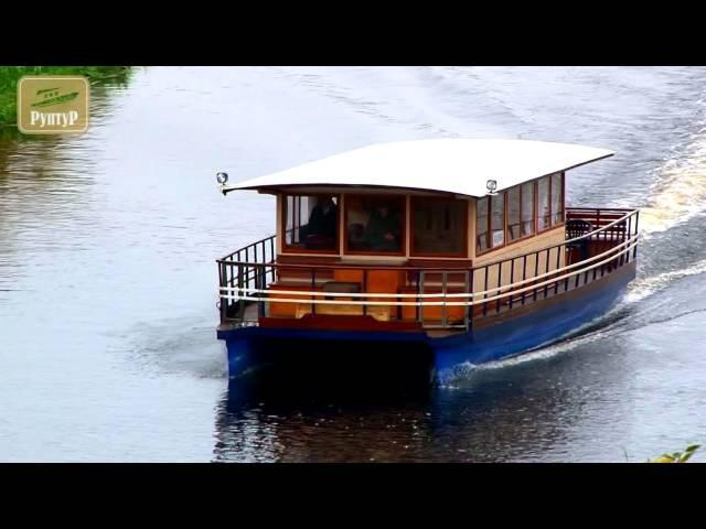 Яхта-катамаран (плавдача)