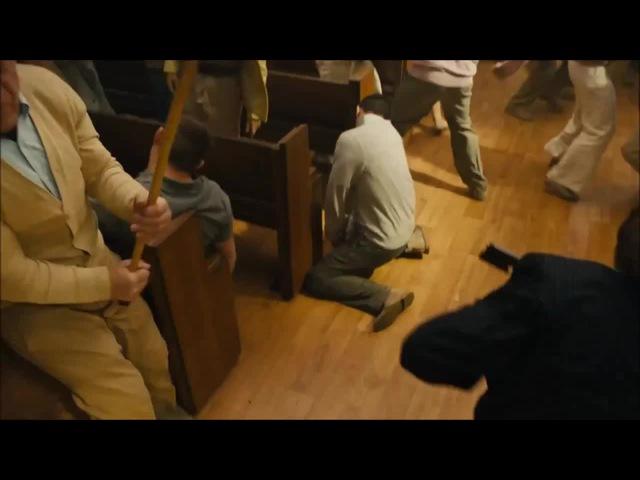 Kingsman - сцена в церкви