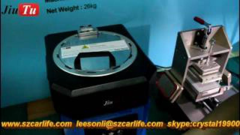 9TU M007 Mini Laminating Machine , No Need Air Compressor , No Need Vacuum Pump
