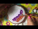 Pintura En Tela Mandil De Botella Con Cony